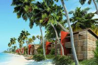 Maldives barefoot eco hotel ocean view rooms beach