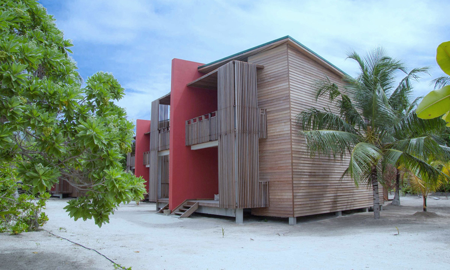 Maldives barefoot eco hotel ocean view rooms