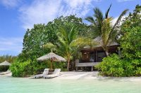 Gangehi Island Resort maldives Beach Villa