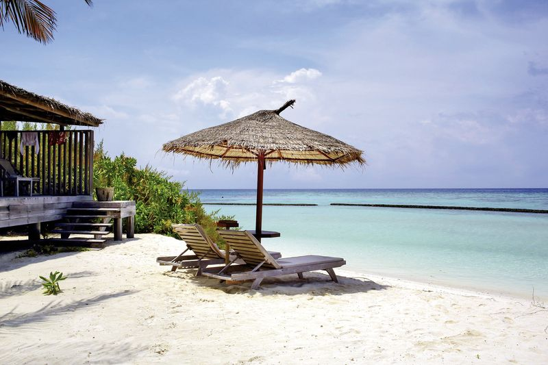 Gangehi Island Resort maldives beach