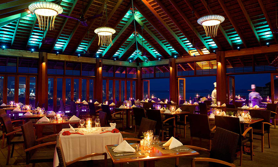 Kuredu Island Resort hotel maldives restaurant