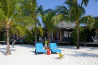Kuredu Island Resort maldives beach villa