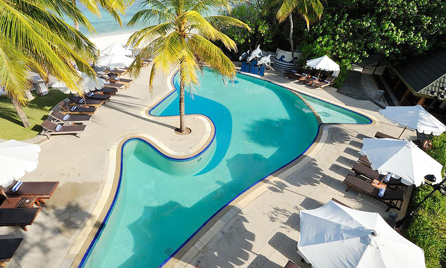 Paradise Island Resort Spa Maldives pool