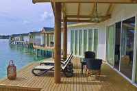 hotel Cinnamon Dhonveli Maldives Over Water Suites terrace
