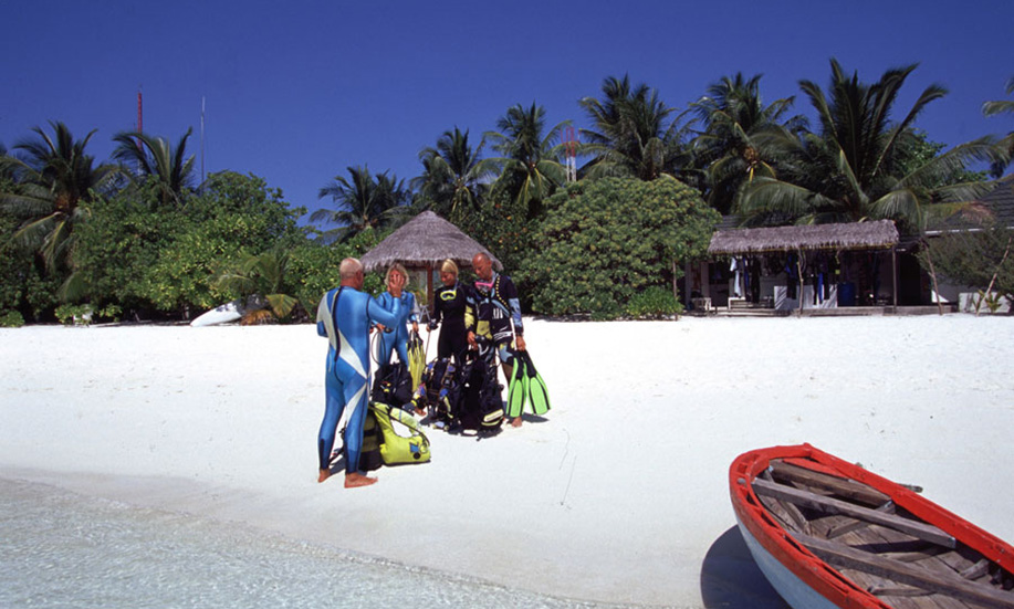 maldives Paradise Island Resort Spa diving
