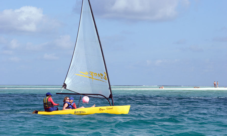 maldives Paradise Island Resort Spa sailing
