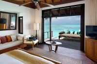 Anantara Veli maldives Deluxe Over Water Bungalow room view