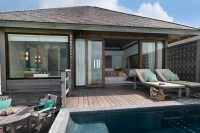 Anantara Veli maldives Deluxe Over Water Pool Bungalow terrace