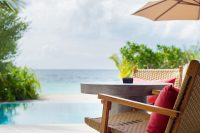Dhigali Maldives Beach Villa with Pool