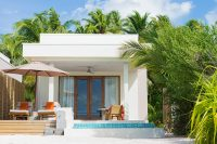 Dhigali Maldives Beach Villa with Pool exterior