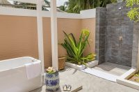 Kudafushi Resort Spa Beach Villa with Pool outdoor shower