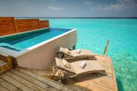 Kudafushi Resort Spa maldives Water Villas with Pool