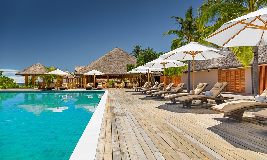 Kudafushi Resort Spa maldives pools