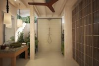 OBLU SELECT at Sangeli by Atmosphere Beach Family Suite with Pool bathroom
